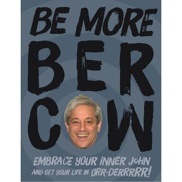 Be More Bercow book front