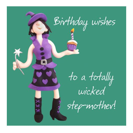 Birthday Wishes To A Totally Wicked Step Mother ESB141