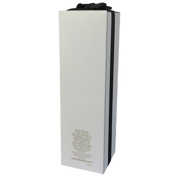 Black Isle Reed Diffuser with gift  box and ribbon back
