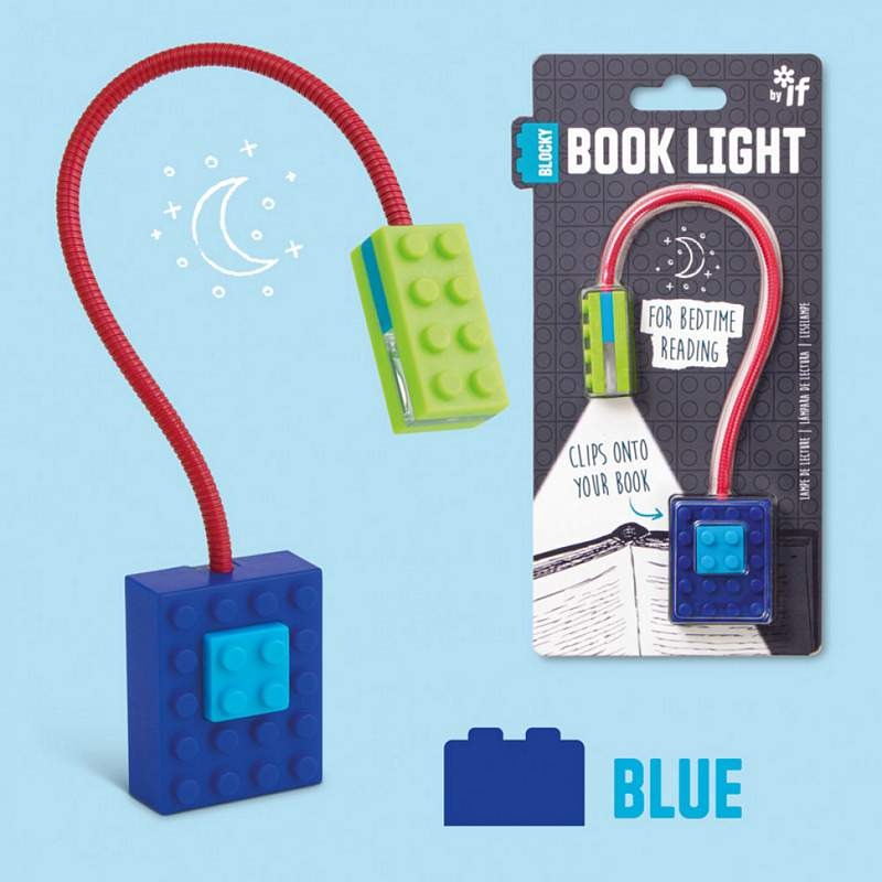 Blocky Book Light Blue & Green with packaging