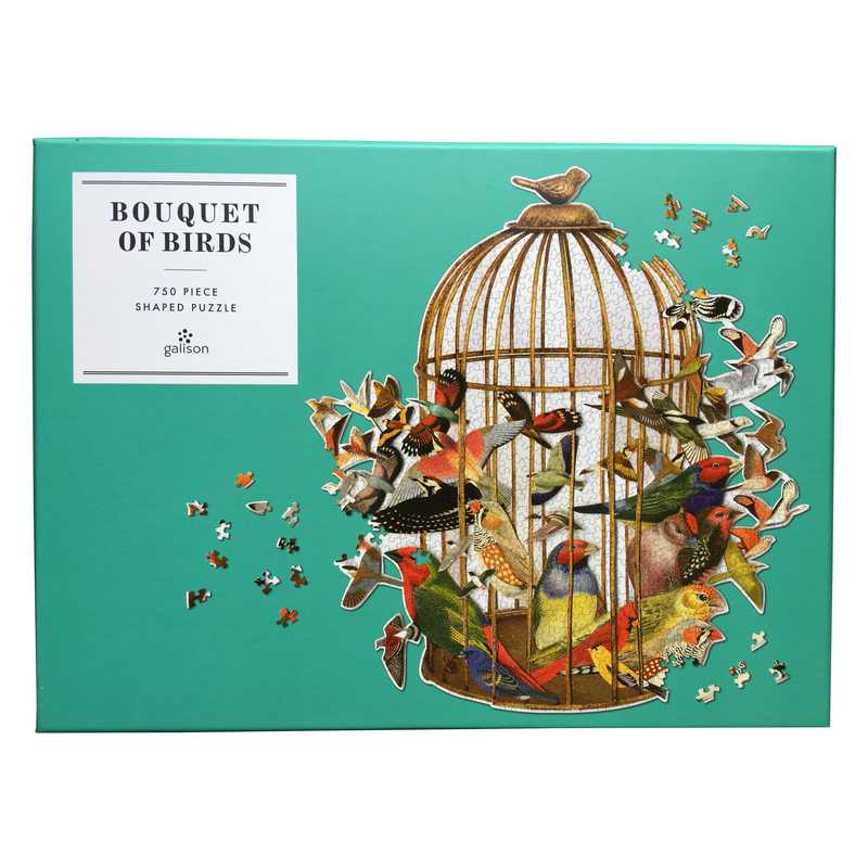 Bouquet Of Birds 750 Piece Jigsaw Puzzle front