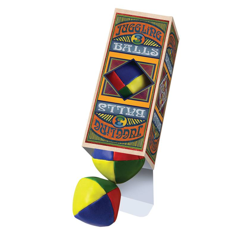 Box of 3 Juggling Balls 213058 open