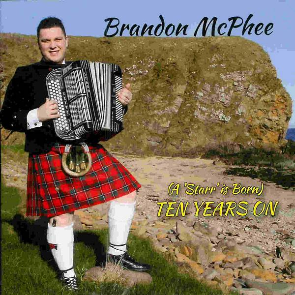 Brandon McPhee - Ten Years On CD front