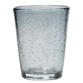 Broste Copenhagen Mouthblown Glass Tumbler With Bubbles