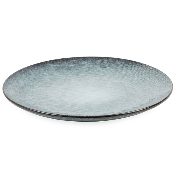 Broste Copenhagen Nordic Sea Stoneware Dinner Plate from side