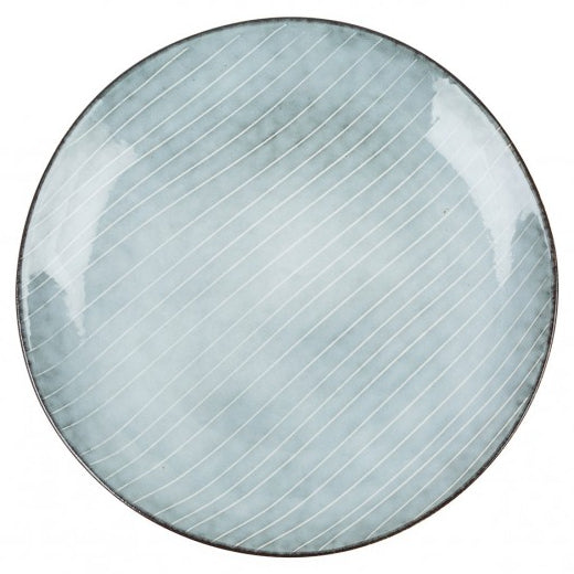 Nordic Sea Stoneware Side Plate 15 cm top