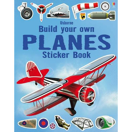 Usborne Build Your Own Planes Sticker Book