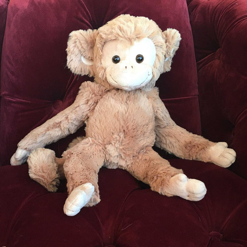 Bukowski Bears - Bernard Monkey on chair