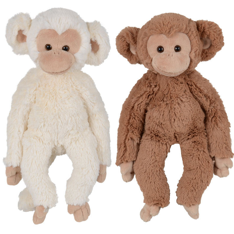 Bukowski Bears - Soft Toy Monkey - Denis and Bernard