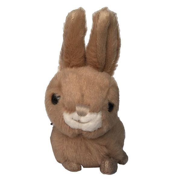 Bukowski Brown Toy Rabbit Baby Hera front