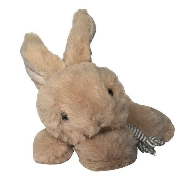 Bukowski Designs Brown Toy Rabbit Buster with scarf front