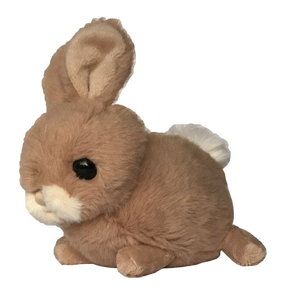 Bukowski Brown Toy Rabbit Hera side
