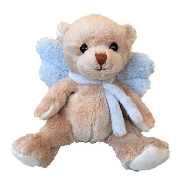 Bukowski Soft Toys Guardian Angel Baby Teddy Bear Blue front