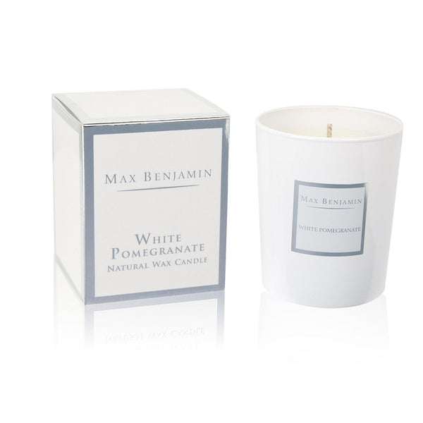 Max Benjamin Candle in Gift Box - White Pomegranate