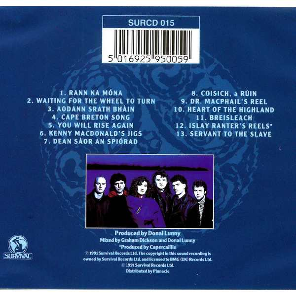 Capercaillie - Delerium - CD cover back