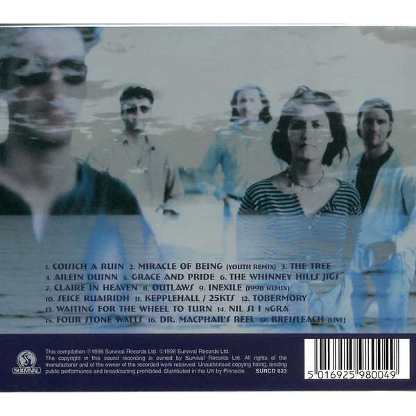 The Best of Capercaillie - Dusk Till Dawn - Cd Cover back