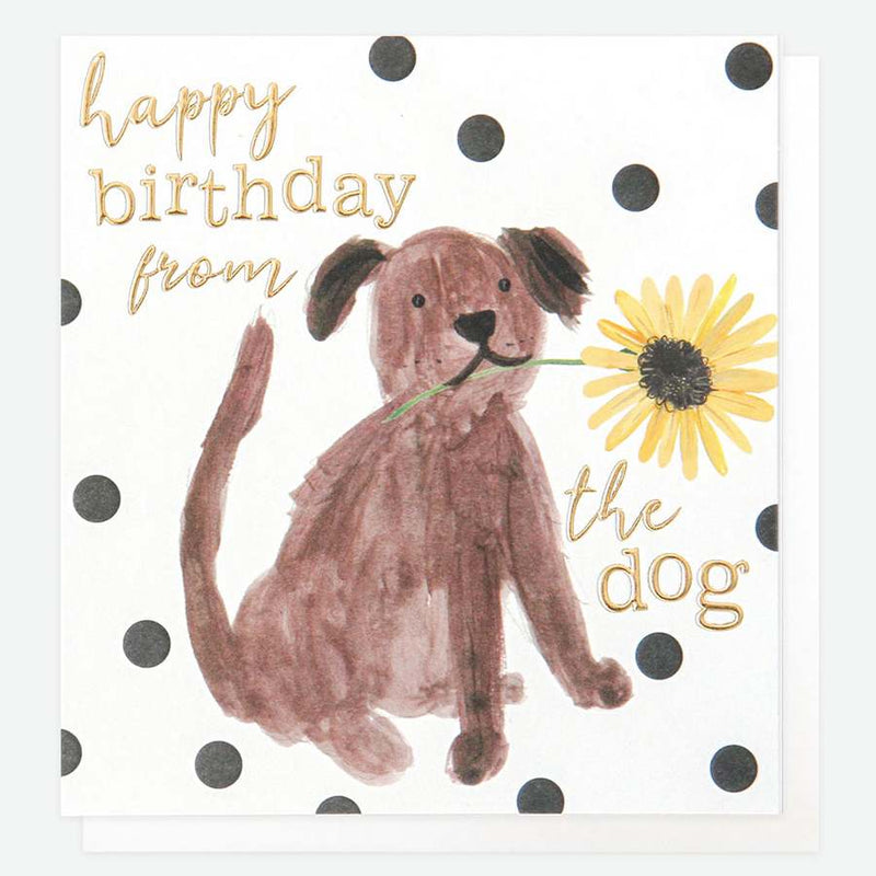 Caroline Gardner Happy Birthday From The Dog card PAI023