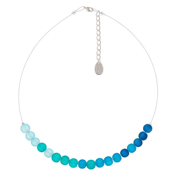 Carrie Elspeth Blues Frosted Galaxy Necklace N1536 main