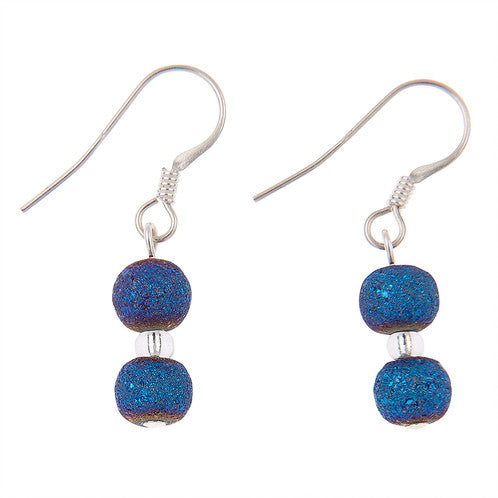 Carrie Elspeth Indigo Lava Earrings EH1412-1413