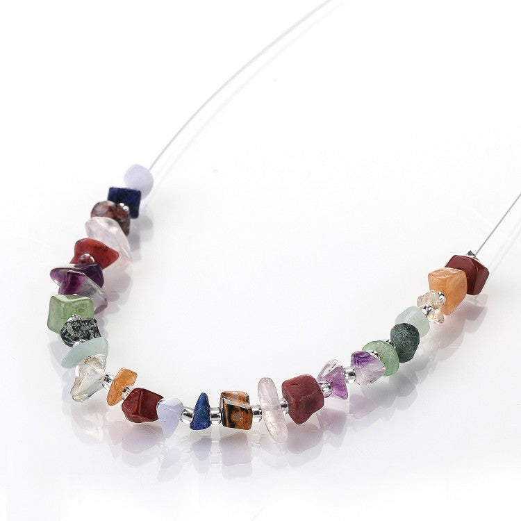 Carrie Elspeth Semi-precious Chips Link Necklace N1509