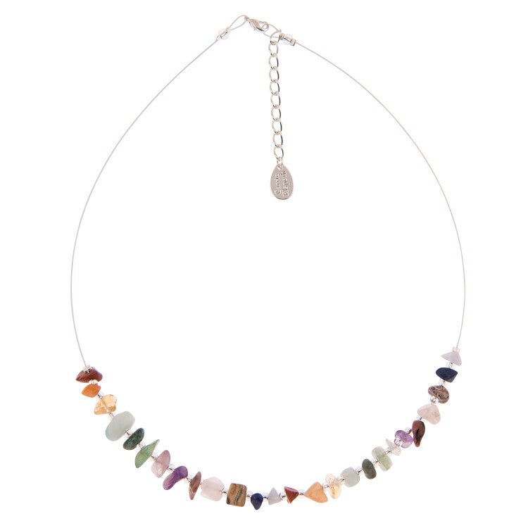 Carrie Elspeth Semi-precious Chips Link Necklace N1509 main