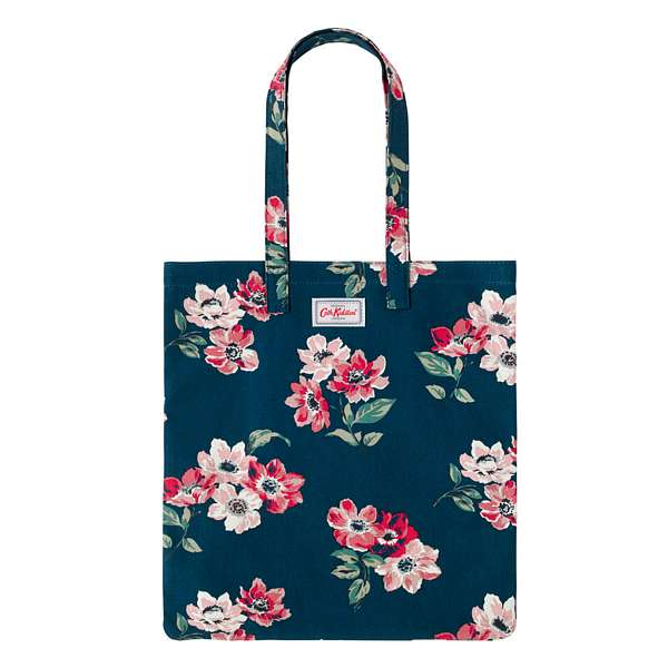 Cath Kidston Anemone Bouquet Cotton Bookbag 786744 front