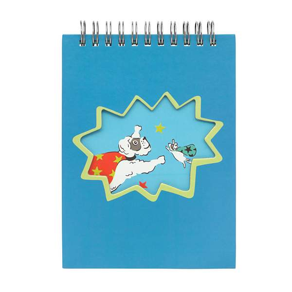 Cath Kidston Super Dogs Novelty Notepad 789608 front
