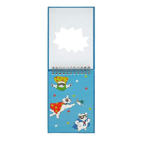 Cath Kidston Super Dogs Novelty Notepad 789608 open