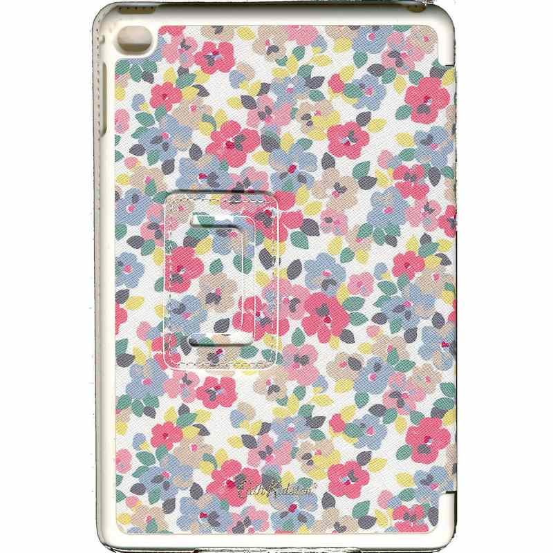 Painted Pansies Hard Case for iPad Mini 4 back