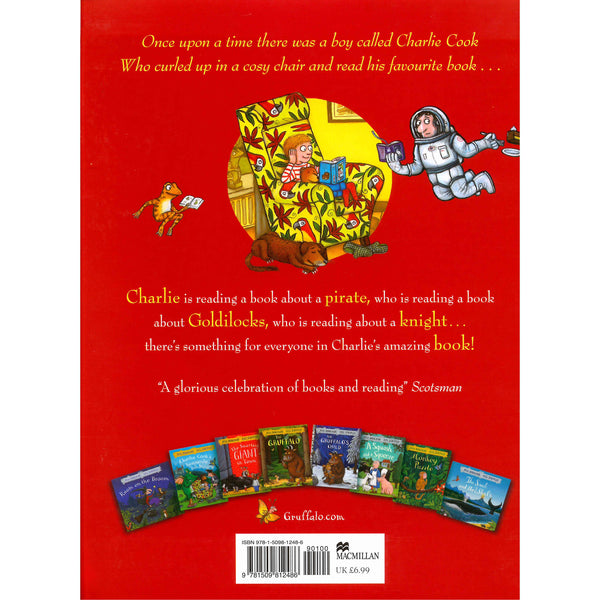 Julia Donaldson - Charlie Cook's Favourite Book back cover