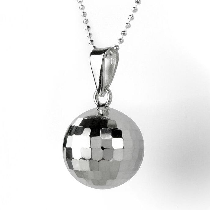 Chiming Disco Ball Necklace