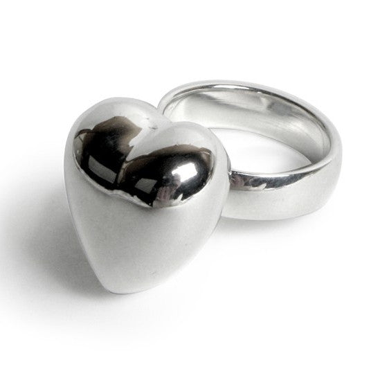 Chiming Heart Ring