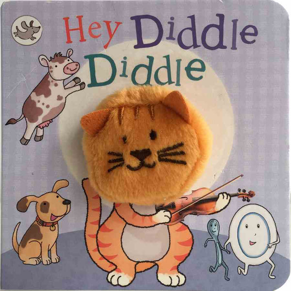 Finger Puppet Chunky Book - Hey Diddle Diddle front