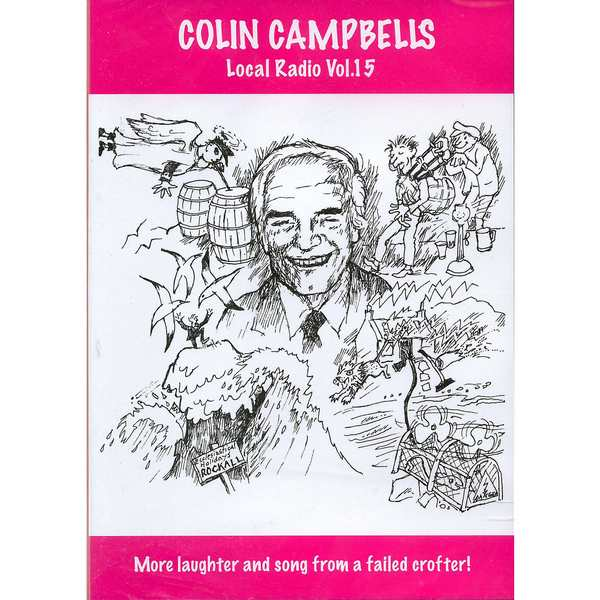 Colin Campbell - Local Radio Volume 15 DVD CCRD015 front