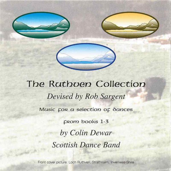 Colin Dewar & His Scottish Dance Band - The Ruthven Collection CD booklet back
