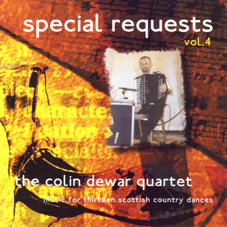 Colin Dewar Quartet - Special Requests Volume 4 SRCD004