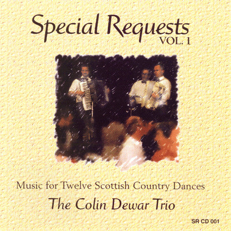 Colin Dewar Trio - Special Requests Volume 1 SRCD001