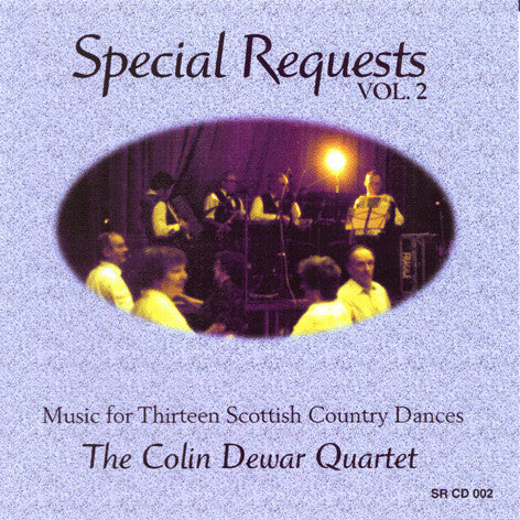 Colin Dewar Quartet - Special Requests Volume 2 SRCD002