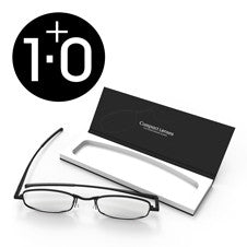 Compact Reading Glasses - jet 1.0