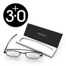 Compact Reading Glasses - jet 3.0