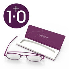 Compact Reading Glasses - Orchid 1.0