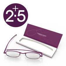 Compact Reading Glasses - Orchid 2.5