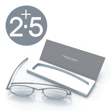 Compact Reading Glasses - Storm 2.5