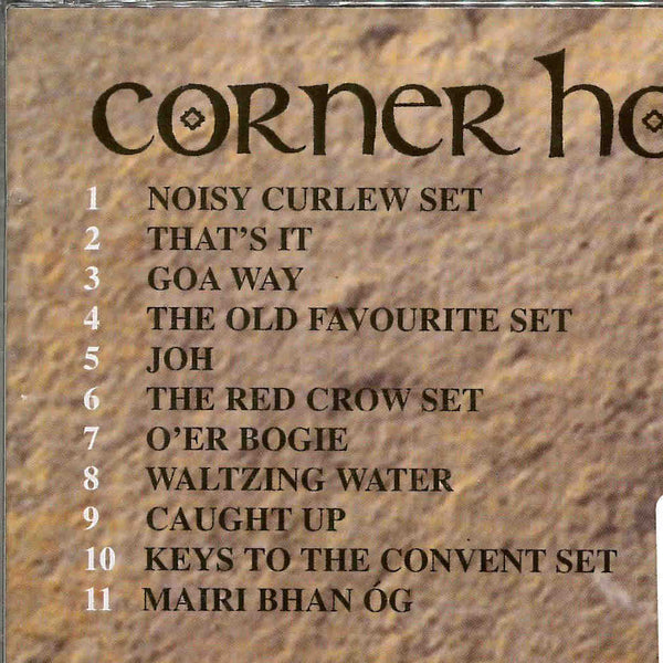 Corner House - Caught Up CD back tracklist