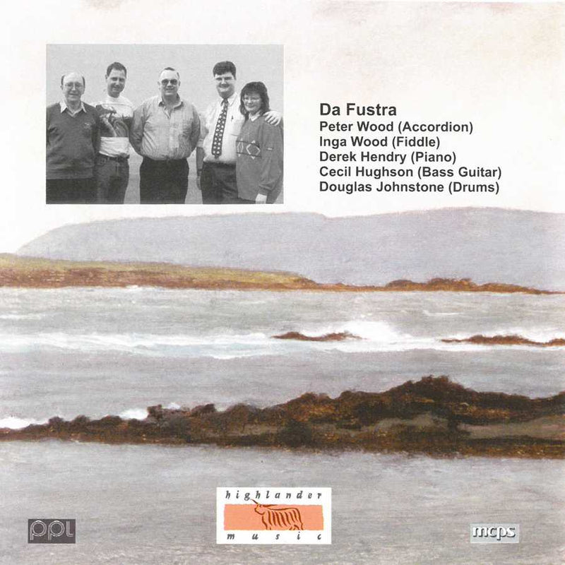 Da Fustra - The Foaming Sea CD booklet back