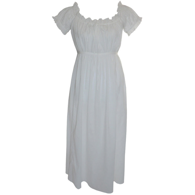 Darcey Nightdress Ruffled Sleeves