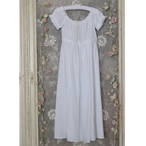 Darcey Nightdress Ruffled Sleeves hanging