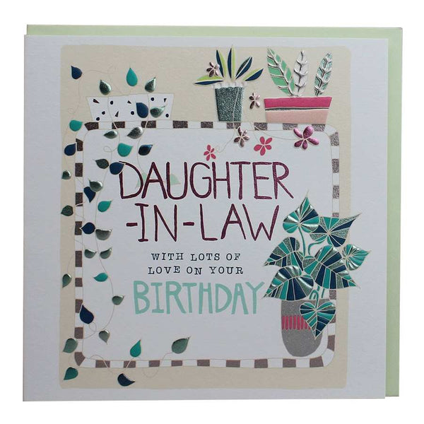 Daughter-in-Law Birthday Card AB04