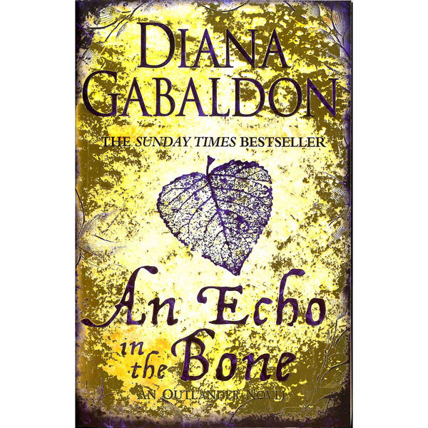 Diana Gabaldon - An Echo In The Bone front