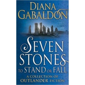 Diana Gabaldon - Outlander  - Seven Stones To Stand Or Fall blue cover